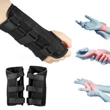 1 Pair Carpal Tunnel 2 Wrist Brace Support Sprain Forearm Splint Band Strap Bar