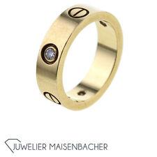 Cartier Ring *Love* 3 Diamanten, Ringgröße 54