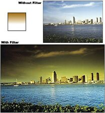 Cokin Cromofilter Graduated Tan/Yellow 2 Y2 Filter 49mm, 52mm, 55mm, 58mm, 67mm