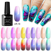 UR SUGAR 7.5ml Nagel Gellack Temperature Color Changing Soak Off Nail Art Gel
