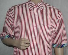 Tommy Hilfiger Shirt Button Down Short Sleeves M Medium