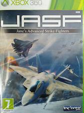 JASF. JUEGO XBOX 360 (JANE'S ADVANCED STRIKE FIGHTERS). NUEVO, PRECINTADO.