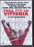 Dvd FUGA PER LA VITTORIA con Sylvester Stallone Michaele Caine Pele' nuovo 1981