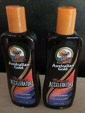 2 AUSTRALIAN GOLD BRONZE ACCELERATOR LOTION 8.5 oz  FAST FREE SHIPPING!