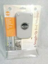 "K&H Pet Products Snuggle Up Bird Warmer Small / Medium Gray 5"" x 3"" x 0.5"""