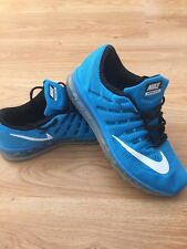 Homme Nike Air Max 2016 Blue Glow Baskets UK 11 US 12 EUR 46/Bargain 99p!!!