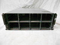 "Dell Equallogic PS6100 PS6110 PS6210 SAN Storage Chassis 24x 3.5"" Bays 2x Power"
