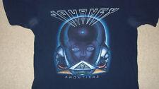 JOURNEY Frontiers Concert T-Shirt MEDIUM CD Album Cover STYX QUEEN BAD ENGLISH