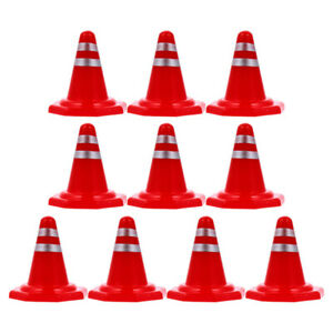 20pcs Simulation Traffic Signs Toy Road Signs Kids City Sand Table Roadblock Toy