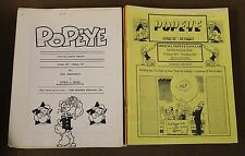 Official Popeye Fanclub Magazine Lot Of (89) 1990-2012