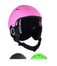 Kids Ski Helmet Girls Pink Junior Snowboarding Helmet 52 to 56 cm Ages 4 to 8