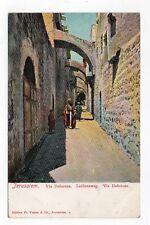 DB Postcard,Jerusalem,Via Dolorosa