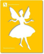 Fairy Stencils Set of 6 Durable Plastic Stencils Fairies Fantasy Designs