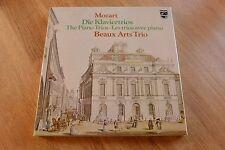 MOZART piano trios BEAUX ARTS TRIO 2LP box Philips 6768032 PRESSLER
