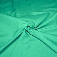 Tessuto Cotone al Metro Tinta Unita Verde h.280 cm Tappezzeria Tende SARANI