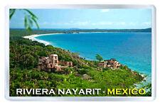 RIVIERA NAYARIT MEXICO FRIDGE MAGNET SOUVENIR IMAN NEVERA