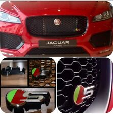 Jaguar F-PACE, XF, XE after 2015 ;S GRILLE BADGE NON ACC
