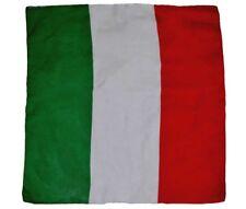 55.9cmx55.9cm ITALIA BANDERA CALIDAD PREMIUM Fade Resistente Algodón BANDANA