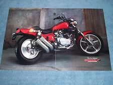 """1987 Honda Magna VF700C Vintage 3pg Color Ad """"Picture Is Worth A Thousand Words"""""""
