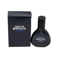 AGUA BRAVA AZUL BY ANTONIO PUIG EAU DE TOILETTE SPRAY 100 ML/3.4 FL.OZ. (D)