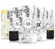 Personalised Marble INITIALS Custom Hard Mobile phone Case Cover For Nokia 5