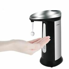 Bathroom Automatic Liquid Soap Dispenser 400ml Smart Sensor Household Appliance
