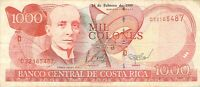Costa Rica 1000 Colones 1999 (L83) - Free to Combine Low Shipping