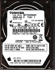 Toshiba MK7559GSXF HDD2J60 P TV01 T 750GB SATA 2.5 HDD 6119