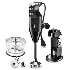 Bamix De Luxe Frullatore A Immersione DeLux Robot Da Cucina frullatore Nera