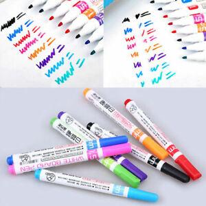 8PCS Multicolor Liquid Chalk Marker Pen for Whiteboard Child Kids DIY Painting