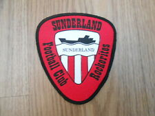 VINTAGE SUNDERLAND  FC  SEW ON LARGE CLOTH BADGE/PATCH