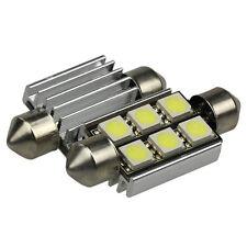 1Pcs Car led festoon 36mm light c5w 6 smd 5050 CANBUS error free led lamp New