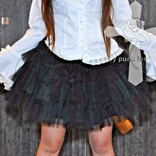 MPT Gothic Lolita Dark Pleasure Punk Puffy Layer Lace Rock Kingdom Skirt TUTU