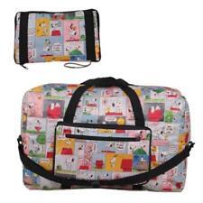 Snoopy Peanuts Comics Travel Big Foldable Waterproof Luggage Bag Carry-On Bag