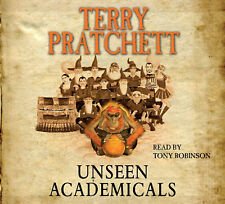 UNSEEN ACADEMICALS by TERRY PRATCHETT AUDIO BOOK CD  - NEW & SEALED DISCWORLD