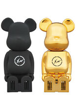 Cleverin BE@RBRICK THE CONVENI BLACK & GOLD Set Fragment Bearbrick Medicom toy