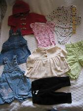 LBaby girls clothing 8pcs bundle 3-6 months (Baby Gap,H&M & Next) (#095)
