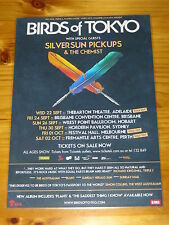 BIRDS OF TOKYO - 2010 Australia Tour SEP/OCT - Laminated Promotional Poster