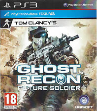 GHOST RECON FUTURE SOLDIER for Playstation 3 PS3 - with box & manual