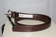 NWT Duchamp London Mens Brown Leather Belt size 40