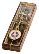 Karma Scents 30 Incense Sticks+10 Cones+Metal Holder Gift Set (Sandalwood) Ks66S