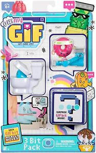 ⭐⭐OH! MY GIF 3 Bit Pack Each GIF Bit really Moves! GIFS Gone Live Toilet Donut⭐⭐