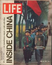 LIFE April 30,1971 Chinese Children Marching / Nixon / Conversation with Mao
