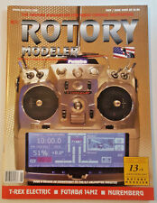 Vintage R/C ROTORY MODELER  May / June 2005 RC Magazine Helimax T-Rex Helicopter