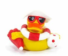 ON THE BEACH RUBBER DUCK - Lanco - 100% Natural Rubber