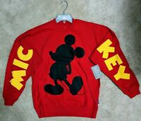 Disney The Mickey Mouse Club Red Spirit Jersey NWT - XS