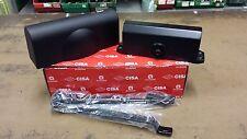 1038045-cisa C141603090 Chiudiporta con arresto Smart Plus 2 Nero opaco