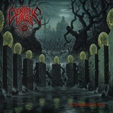 "Deny The Urge ""As Darkness Falls"" blueblack vinyl LP [Brutal Tech Death Metal]"