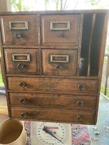 Oak office mini storage cabinet? Local pickup only