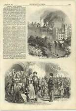 1857 Great Fire Old Town Edinburgh Lower Normandy Custom After Marriage